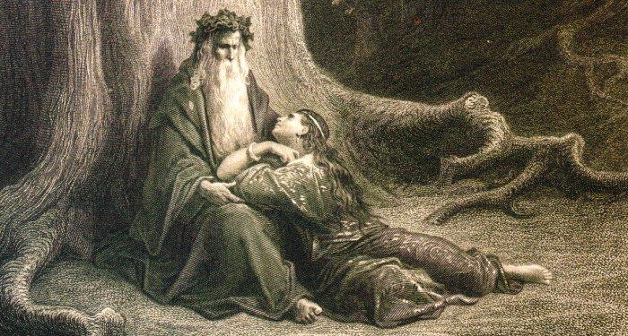 Deus e as amarrações amorosas de São cipriano