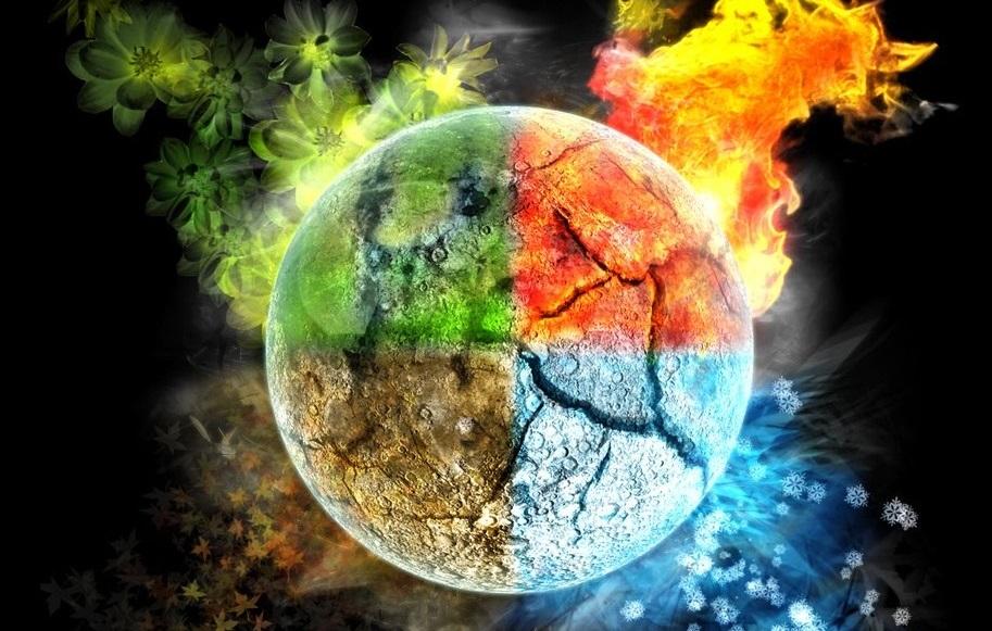 Magia e os elementos da natureza