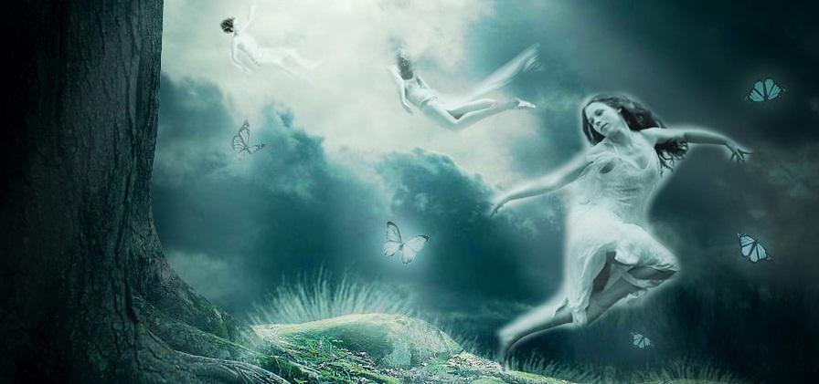 espiritos, alamas, fantasmas