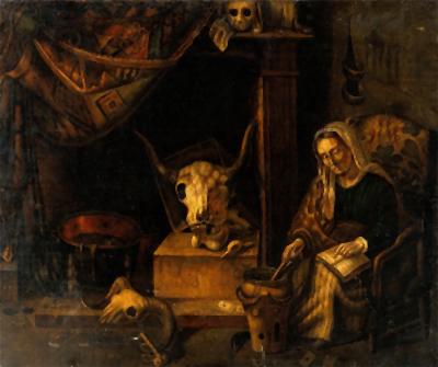 Amarração de bruxa Évora de Portugal