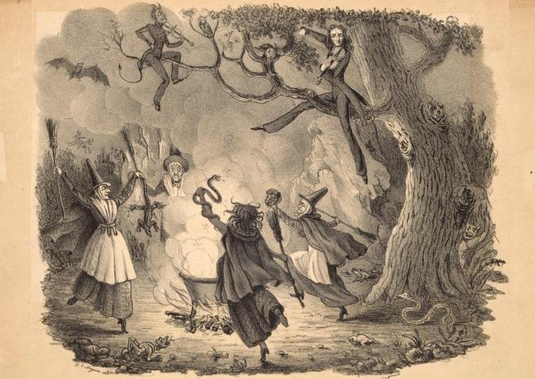 feiticeiros, bruxas e magos